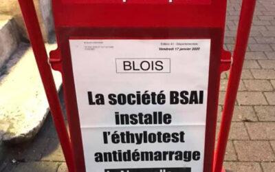 La société BSAI installe l'éthyloest antidémarrage